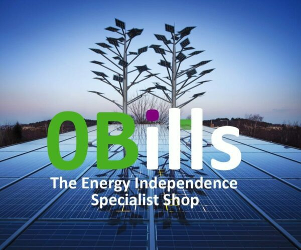 0Bills DIY Energy Store Online for Energy Independence in Your Home and Business logo