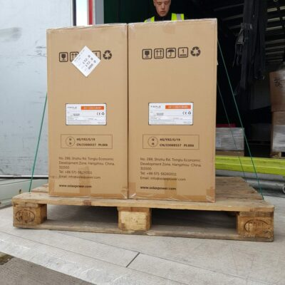Solar and Energy Store Delivery 11