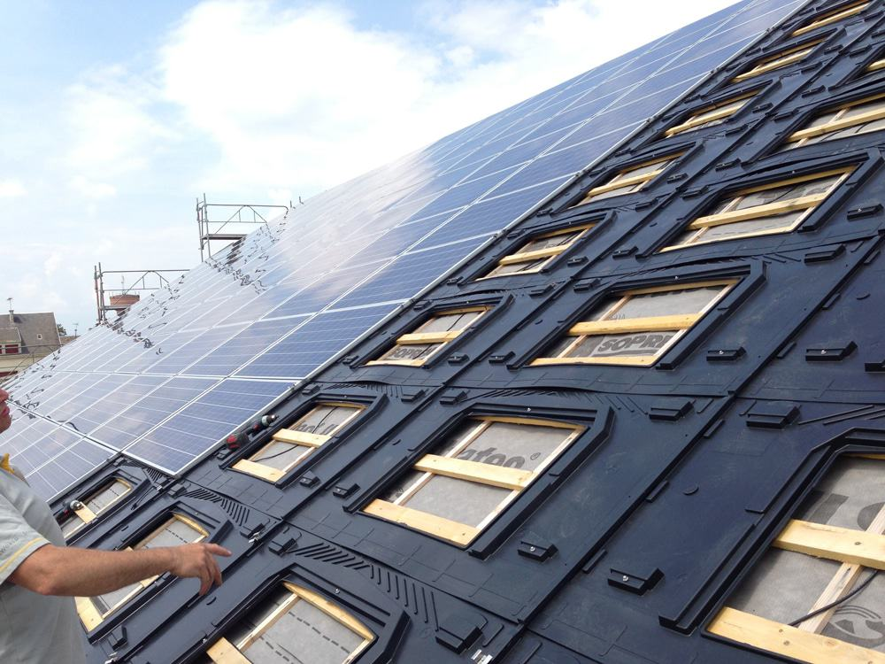 GSE In-Roof Integration System for Solar PV