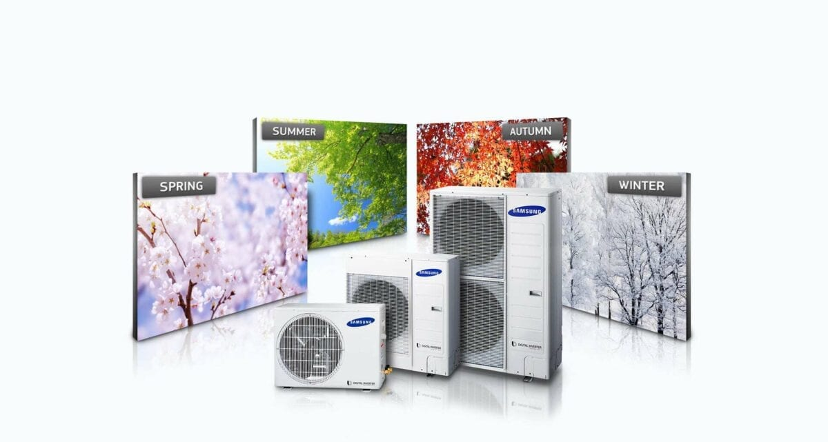 The Samsung Heat Pumps can provide more for you