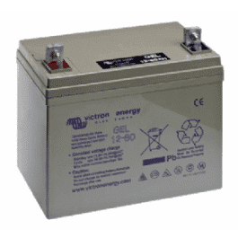 Victron 12V GEL deep cycle battery - 55 ah @ C10, 60 ah @C20 by ZEROhomebills