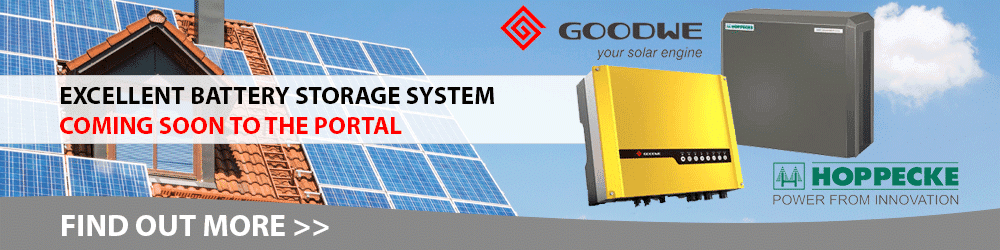 Battery Storage Solutions from GoodWe and Hoppecke on ZEROhomebills