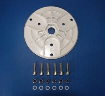 Silentwind Rotorblade Hub white with screw kit M6