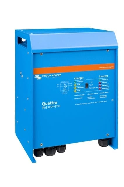 Victron Quattro 3kW 48V Inverter and Charger