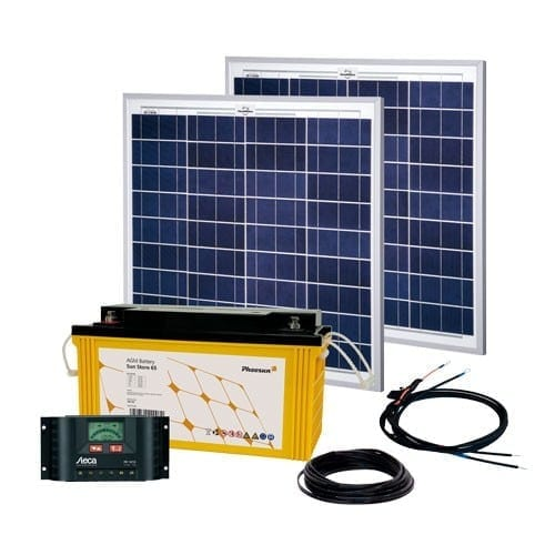 Energy Generation Kit Solar Rise Two 2 0 100W 12V