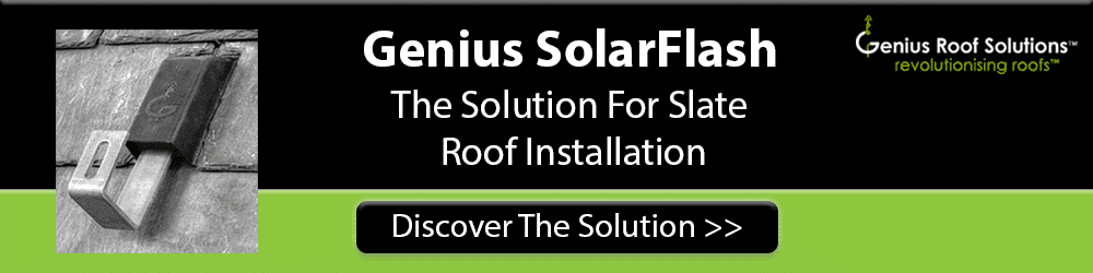 The Genius SolarFlash system for your roof