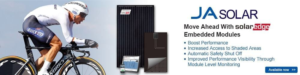JA Solar Modules with SolarEdge optimizer, Solar distributor, zerohomebills.com, ZERO home bills, solaranna, solaranna.co.uk, solaranna.com, 0bills.com, zero bills, free energy reduce your bills, eliminate home bills, energy independence, renewable energy, off-grid, wind energy, solar energy, renewable shop, solar shop, off-grid shop, tired of your home temperature due to your bills, weather sensors, temperature sensors, looking for a better weather in your home, sonnenshop, photovoltaic shop, renewable shop, off-grid shop, battery storage, energy storage, boilers, gas boilers, combi boilers, system boilers, biomass boilers, led lighting, e-vehicles, e-mobility, heat pumps, air source heat pumps, ground source heat pumps, solar panels, solar panel, solar inverter, monocrystalline panels, polycrystalline panels, smart solar panels, flexible solar panels, battery chargers, charge controllers, hybrid inverters fireplaces, stoves, wood stoves, cooking stoves, kitchen stoves, multi fuel stoves, solar thermal, solar thermal panels, solar kits, solar packages, wind and sun, wind&sun, wind energy, wind turbines, wind inverters, green architecture, green buildings, green homes, zero bills homes, zero bill homes, best prices in renewable, best prices in solar, best prices in battery storage, domestic hot water, best prices in boilers, best prices in stoves, best prices in wind turbines, lit-ion batteries, off-grid batteries, off-grid energy, off-grid power, rural electrification, Africa energy, usa renewable, usa solar energy, usa wind energy, uk solar, solar London, solar installers usa, solar installers London, solar usa, wholesale solar, wholesale wind, Photovoltaik Großhandel, Solaranlagen, Speicherlösungen, Photovoltaik-Produkte, Solarmodule, PV Großhändler: Solarmodule, Speichersysteme, Wechselrichter, Montagegestelle, Leistungsoptimierer, Solarmarkt, Solar markt, solaranna, zerohomebills.com, 0bills.com, zeroutilitybills.com, zero utility bills, no utility bills, elimi