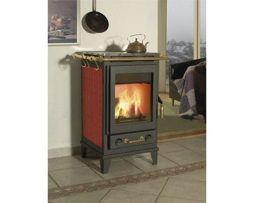 Florenz ceramic cooker stove and fireplace BORDEAUX on ZEROhomebills 3
