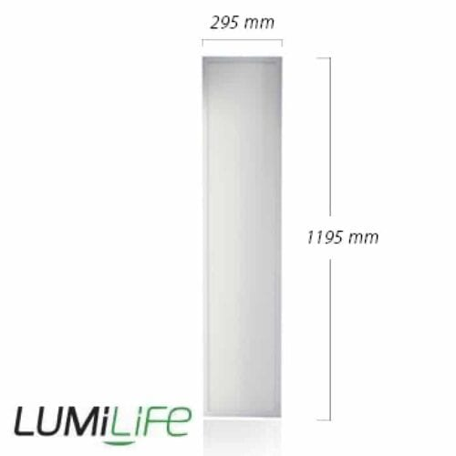 40W LED Panel - 295x1195mm - Cool White - Optional Dimmable Driver and Bracket 2