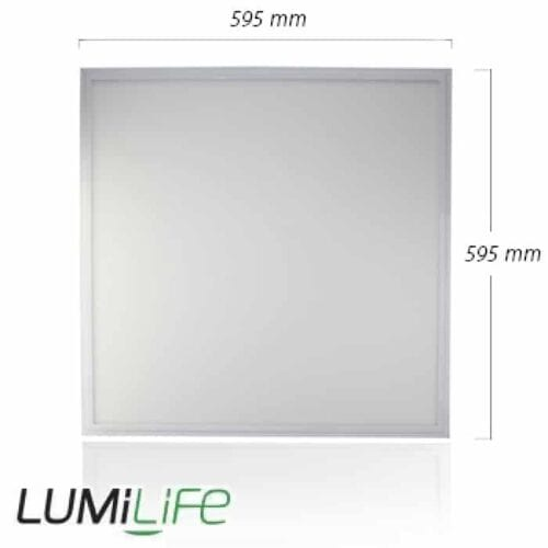 45W LED Panel 6000K - 595x595mm - IP40 - Optional Dimmable Driver 3
