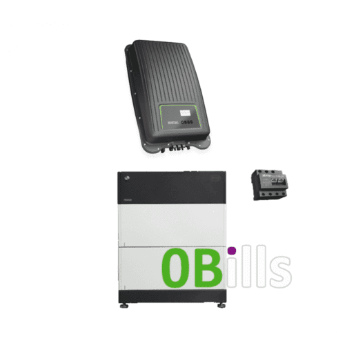 5.1kW Solar Battery Storage with BYD HVS and Kostal Piko MP PLUS 4.6