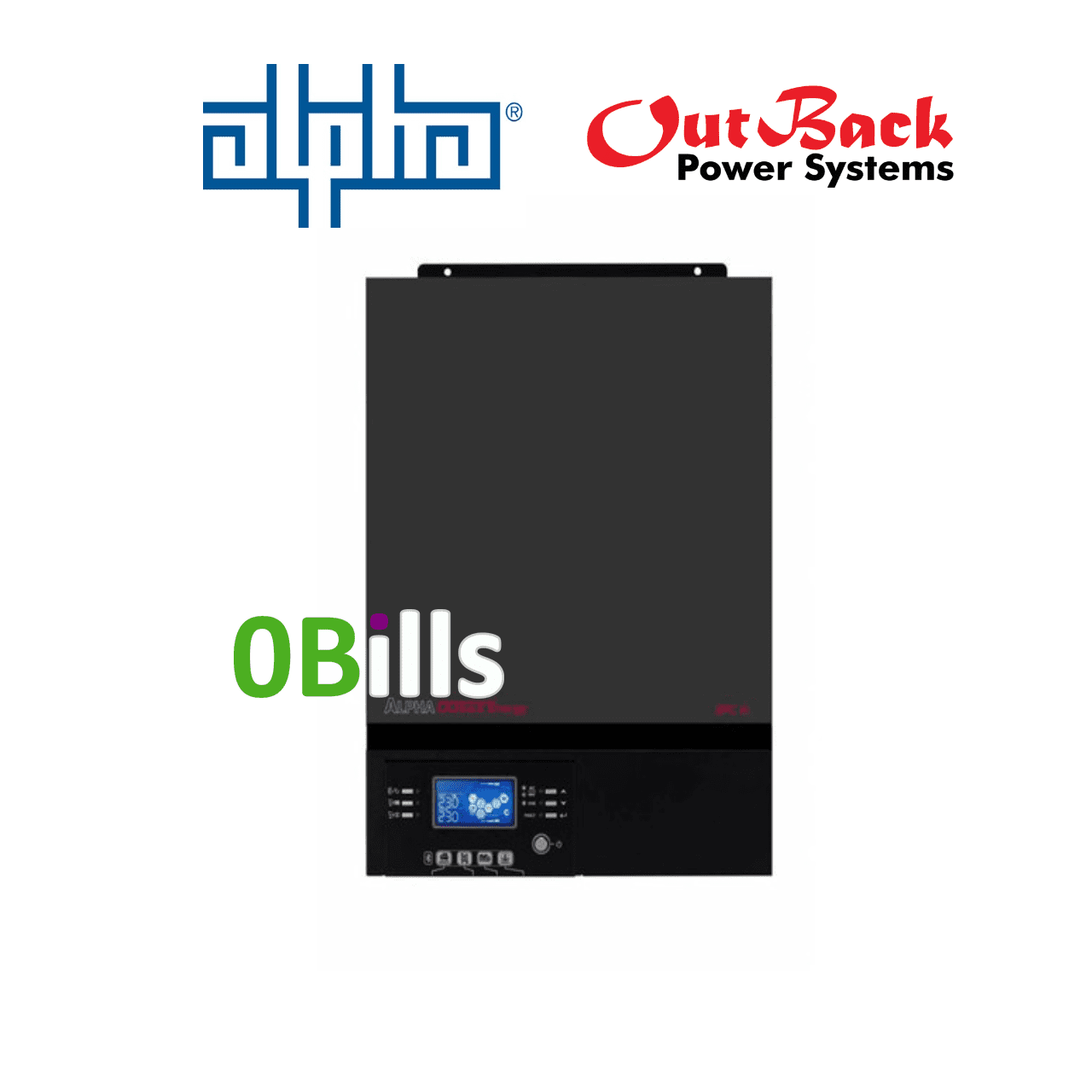 Alpha Outback SPC III 1500-24 All In One 1.5kW Off-Grid Solar Inverter