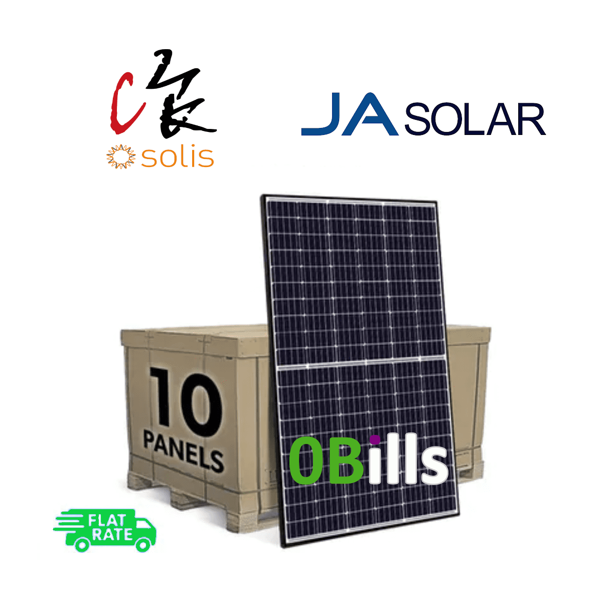 Amazon Solis 3kW Grid Tie DIY Solar Panel System Kit for Sale At Best Price