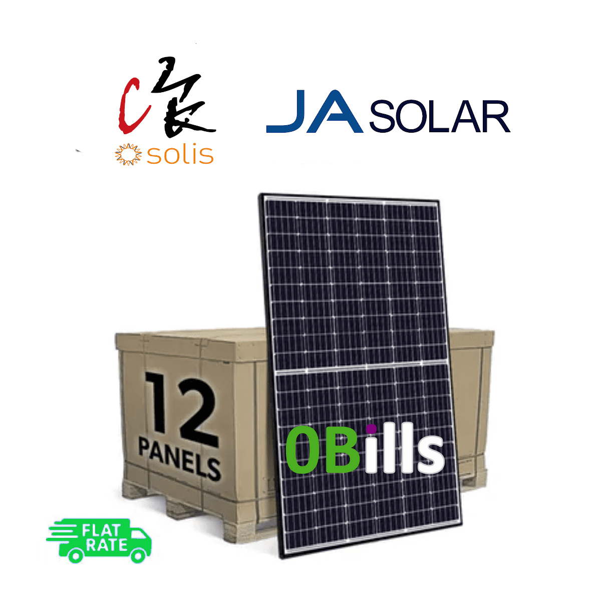 Amazon Solis 4kW Grid Tie DIY Solar Panel System Kit for Sale At Best Price