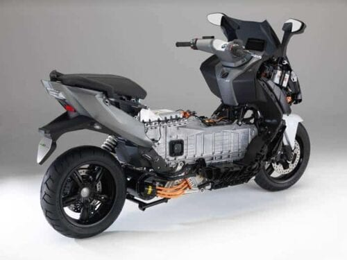 BMW C Evolution Electric Motorcycle battery