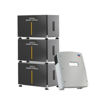 BMZ ESS 21.0 Modular Energy Storage Island SMA for grid tie and off-grid solar panel systems