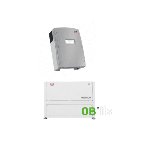 BYD Premium LVL 15.4 kW Solar Battery with SMA Sunny Island 8.0H