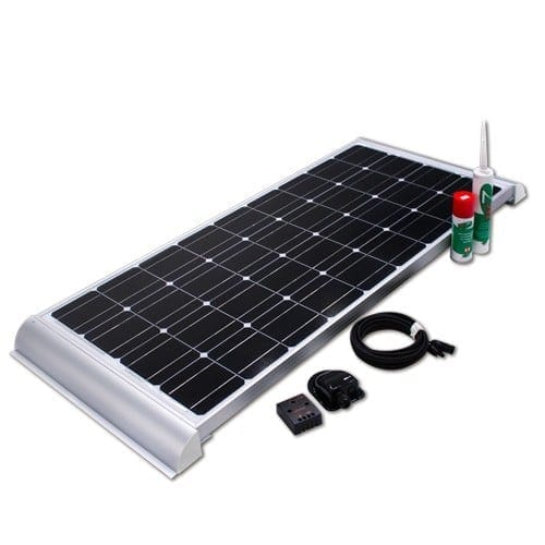 Caravan Base Camp Zero 110W 12V RV Solar Kit