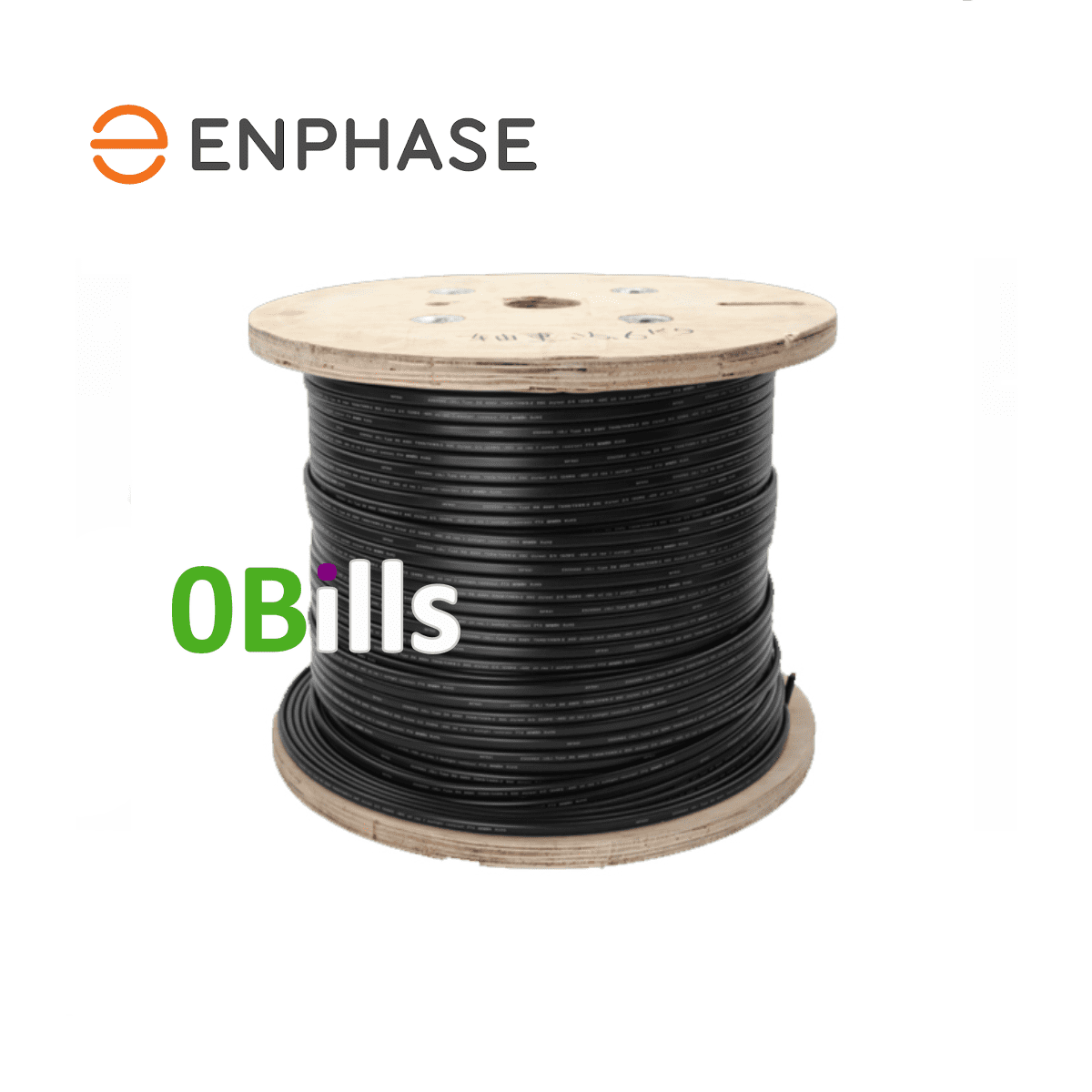 Enphase 240VAC Single Phase Raw Trunk Cable