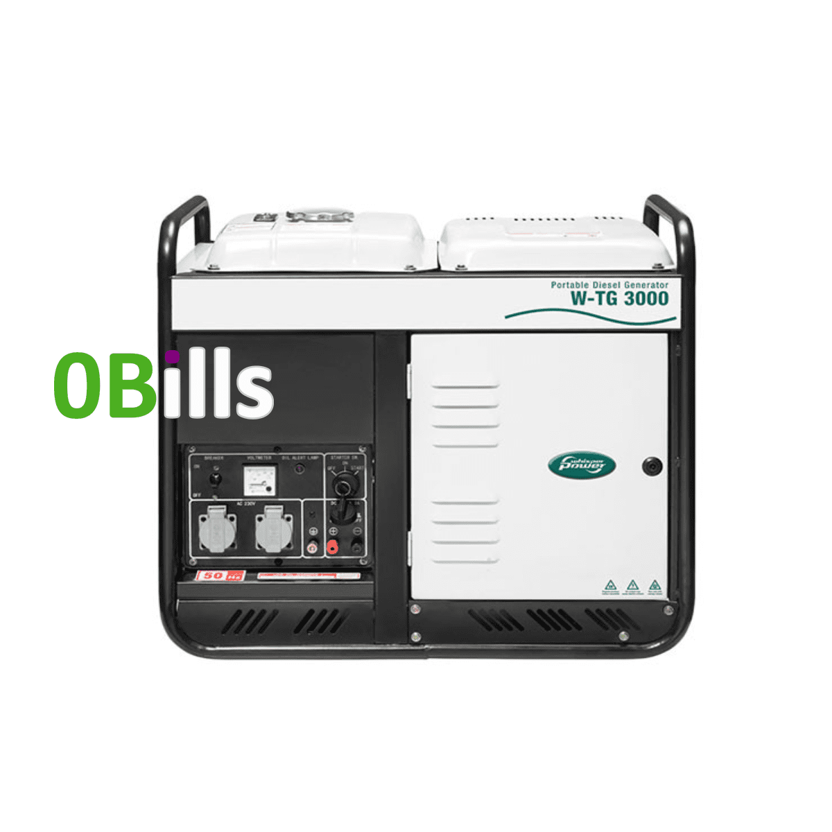 Portable Diesel Generator Whisperpower W-TG 3000 on Sale at Best Price