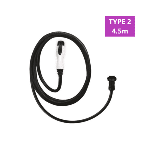 SolarEdge Type 2 EV Charger Cable 4.5 m meter with Wall Socket