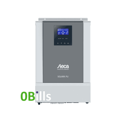 Steca Solarix PLI 2400-24 Solar Inverter Charger with MPPT Charge Controller