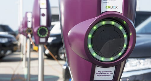 Commercial EV Charging Points Available EVBOX Business Line