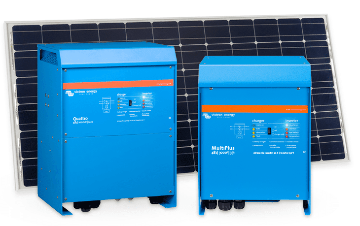 Configuring solar systems with Victron Quattro and Multi