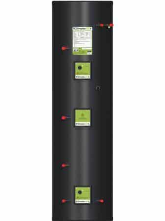 Dimplex 300L unvented, stainless steel DHW cylinder