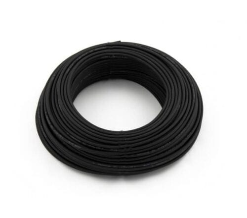 Eland 4mm² single-core solar DC cable 25m - Black