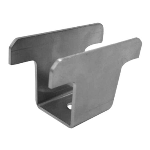 GSE Integration Mid Clamp SILVER 45mm for Roof Integrated Solar Panel Mounting