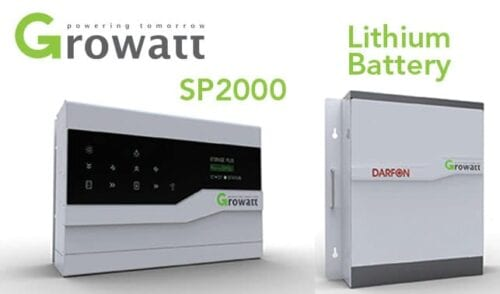 Growatt Domestic Storage System DC String Battery Controller with Battery Storage