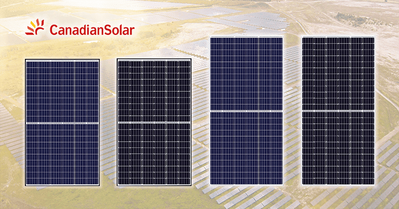 Half-Cell Canadian Solar Ku modules for Sale