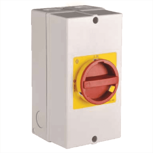 Kraus & Naimer Single Phase AC Switch Disconnector 25A