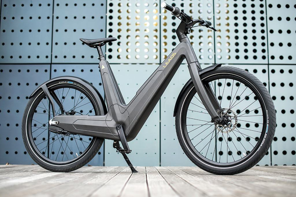 Leaos the first self-sufficient solar panel eBike
