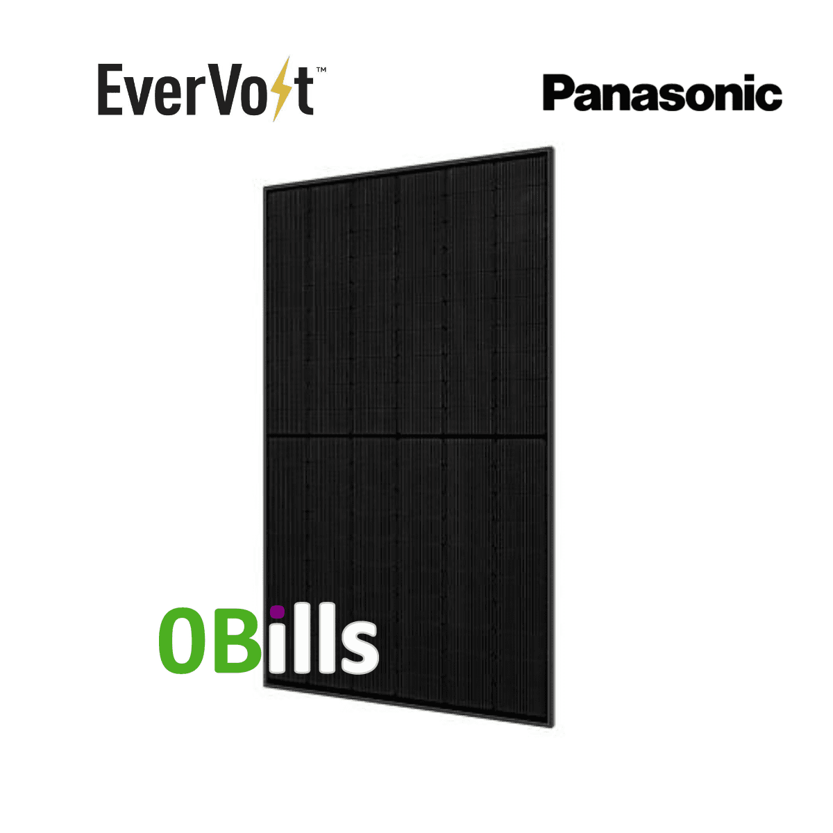 Panasonic EverVolt EVPV360K 360W Solar Panel Black Series for Sale