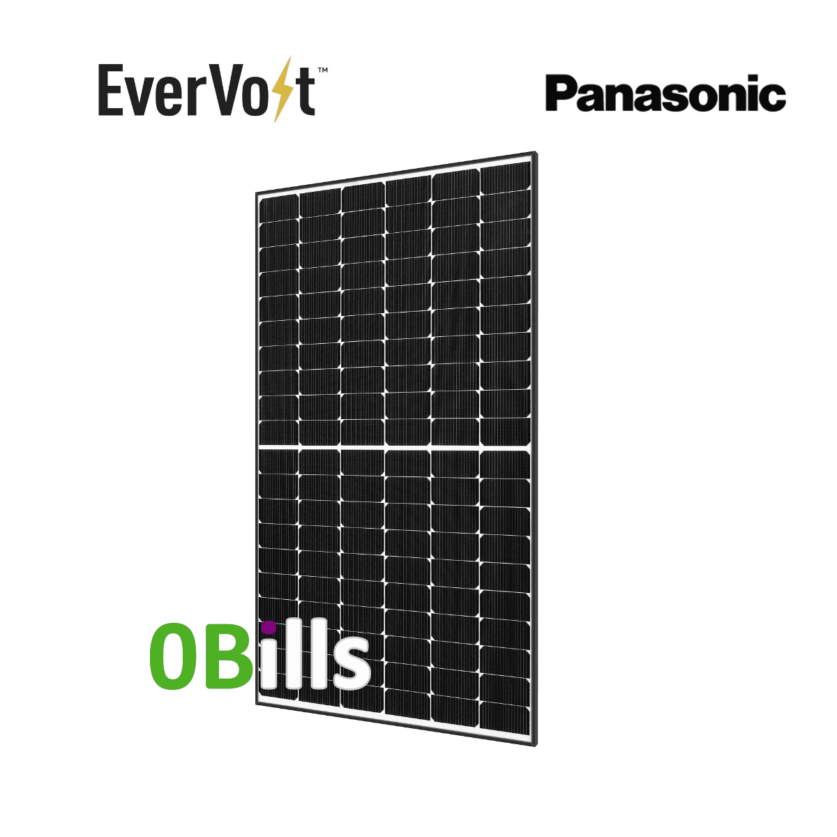 Panasonic EverVolt EVPV370 370W Solar Panel for Sale