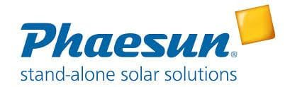 Phaesun Off-grid solar batteries kits and wind turbines Logo