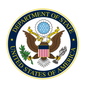 Proud Supplier of the Department of State of United States of America logo