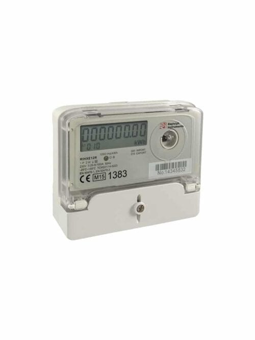 Rayleigh Instruments RIHXE12R MID Certified 1-PH 100A Solar Generation Meter