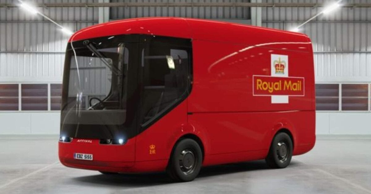 Royal Mail is going greener with all-electric vans