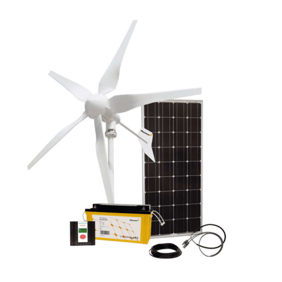 Phaesun 12V 500W Wind Turbine Kit with 100W Solar Panel on Sale