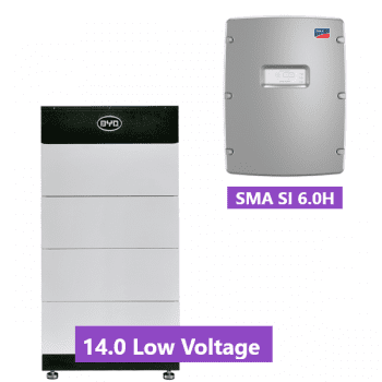 Solar Battery Package BYD Battery-Box L 14.0 with SMA Sunny Island SMA