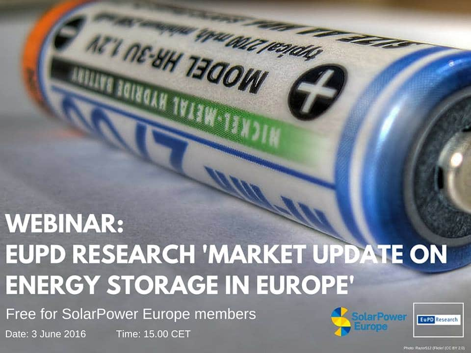 """SolarPower Webinar: EuPD Research """"Market Update on Energy Storage in Europe"""", Solar distributor, zerohomebills.com, ZERO home bills, solaranna, solaranna.co.uk, solaranna.com, 0bills.com, zero bills, free energy reduce your bills, eliminate home bills, energy independence, renewable energy, off-grid, wind energy, solar energy, renewable shop, solar shop, off-grid shop, tired of your home temperature due to your bills, weather sensors, temperature sensors, looking for a better weather in your home, sonnenshop, photovoltaic shop, renewable shop, off-grid shop, battery storage, energy storage, boilers, gas boilers, combi boilers, system boilers, biomass boilers, led lighting, e-vehicles, e-mobility, heat pumps, air source heat pumps, ground source heat pumps, solar panels, solar panel, solar inverter, monocrystalline panels, polycrystalline panels, smart solar panels, flexible solar panels, battery chargers, charge controllers, hybrid inverters fireplaces, stoves, wood stoves, cooking stoves, kitchen stoves, multi fuel stoves, solar thermal, solar thermal panels, solar kits, solar packages, wind and sun, wind&sun, wind energy, wind turbines, wind inverters, green architecture, green buildings, green homes, zero bills homes, zero bill homes, best prices in renewable, best prices in solar, best prices in battery storage, domestic hot water, best prices in boilers, best prices in stoves, best prices in wind turbines, lit-ion batteries, off-grid batteries, off-grid energy, off-grid power, rural electrification, Africa energy, usa renewable, usa solar energy, usa wind energy, uk solar, solar London, solar installers usa, solar installers London, solar usa, wholesale solar, wholesale wind, Photovoltaik Großhandel, Solaranlagen, Speicherlösungen, Photovoltaik-Produkte, Solarmodule, PV Großhändler: Solarmodule, Speichersysteme, Wechselrichter, Montagegestelle, Leistungsoptimierer, Solarmarkt, Solar markt, solaranna, zerohomebills.com, 0bills.com, zeroutilitybills.com, zero ut"""