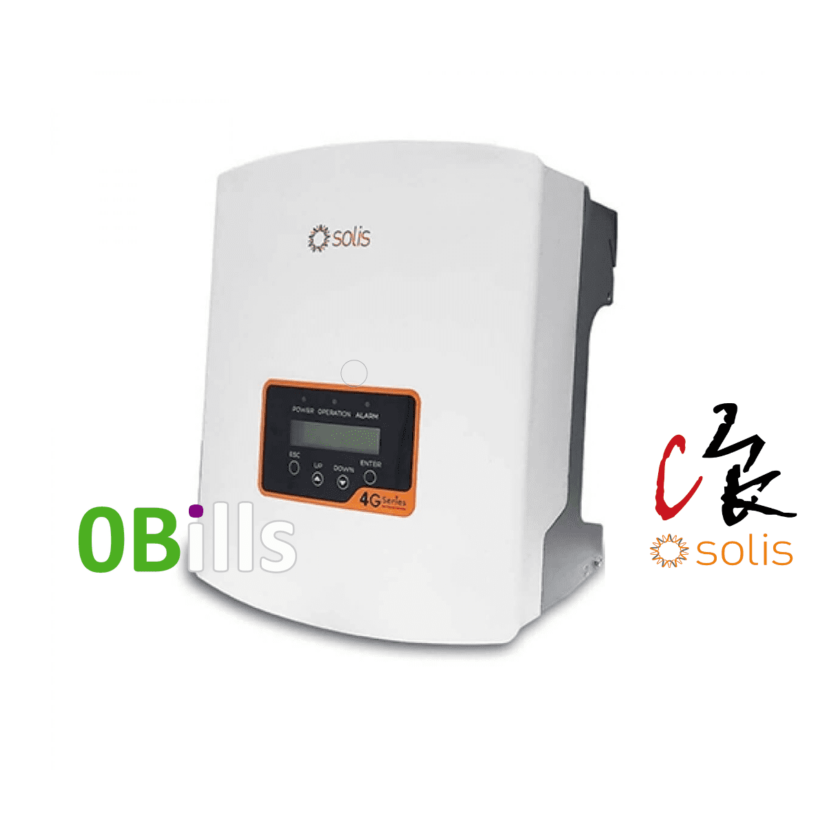 Solis Mini 3000-4G 3kW Solar Inverter Single Tracker