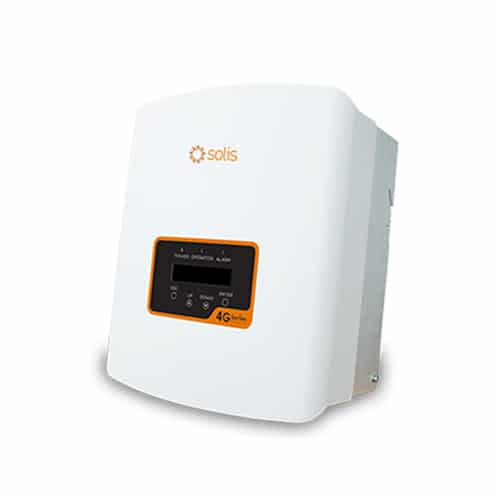 Solis Mini 3600-4G 3.6kW Solar Inverter Single Tracker w DC Isolator 2XString