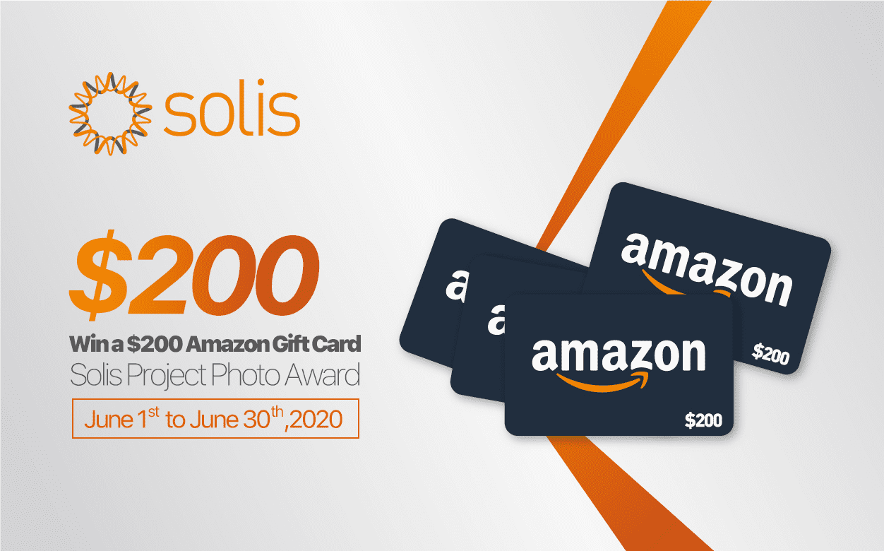 Win Amazon Gift Cards with Solis