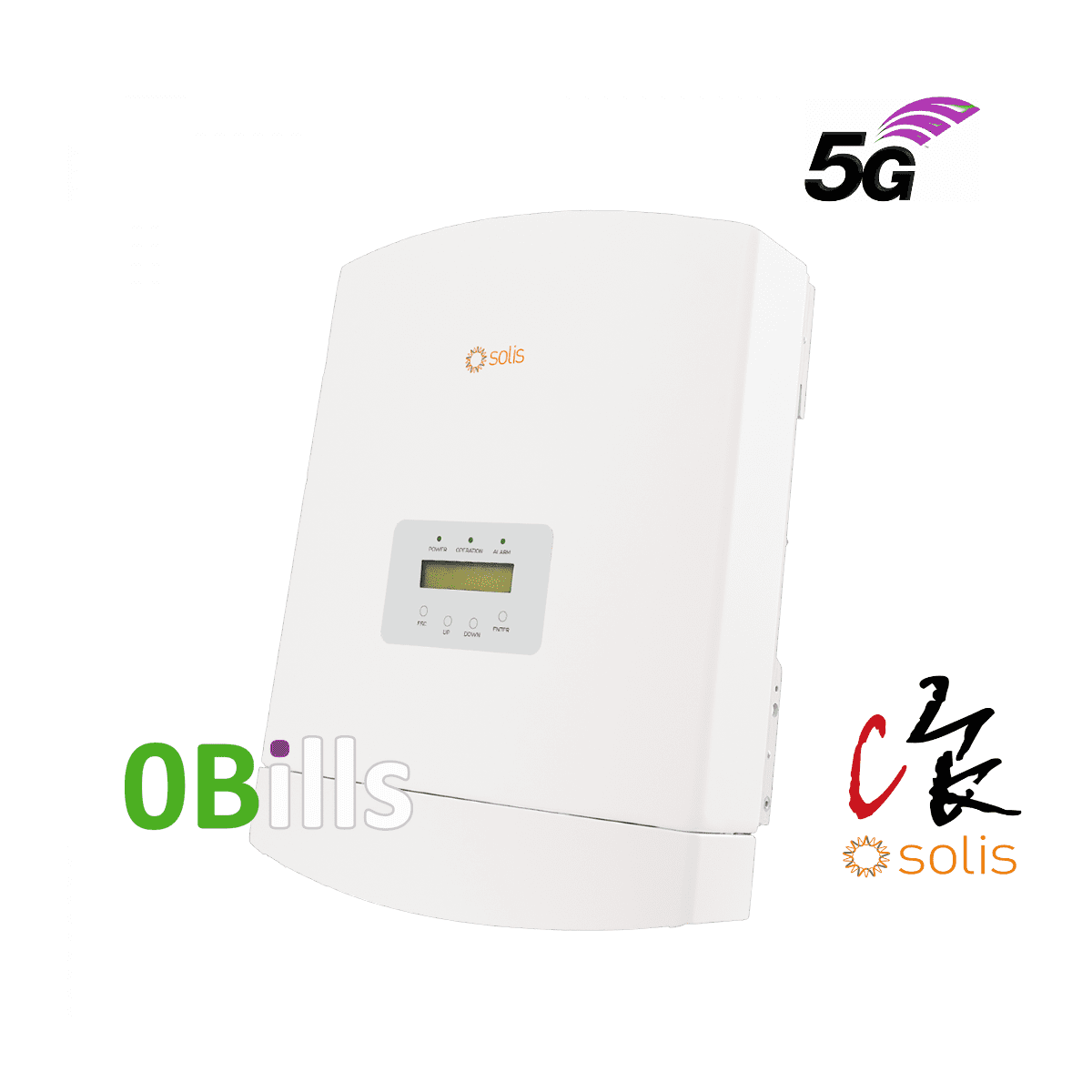 Solis RAI-3K-48ES 5G AC Coupled 3kW Energy Storage Solar Inverter