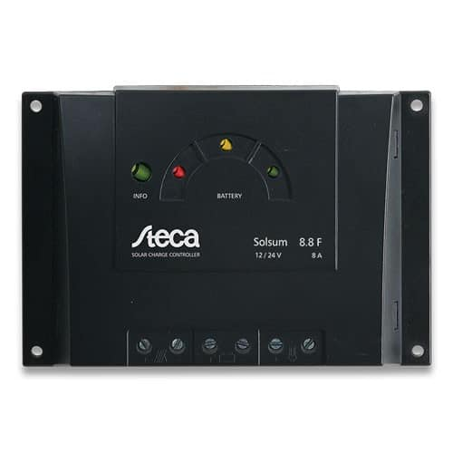 Steca Solsum 8.8F Solar Charge Controller 12-24V 8A