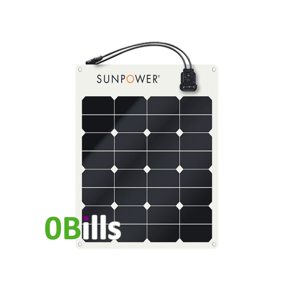 SunPower SPR-E-Flex 50 W Flexible Solar Panel